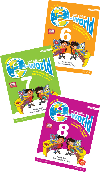 e-world for ICSE 6-8 (Revised Edition)