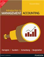 Introduction to Management Accounting-Chapters 1-17