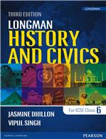 Longman History & Civics (Third Edition) for ICSE 6
